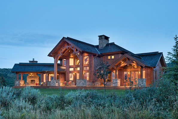 Timber frame Afton Residence