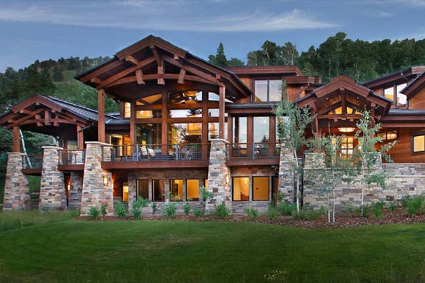 Timber Frame Park City Residence
