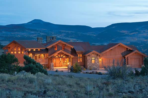 Log home South Fork Residence