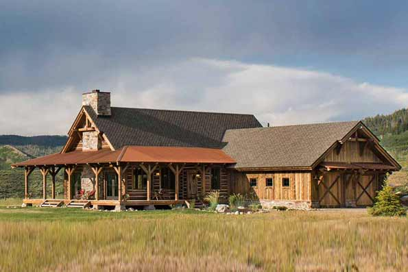 Timber Frame Steamboat Springs Residence