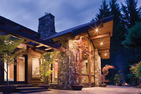 Timber frame Washougal Residence