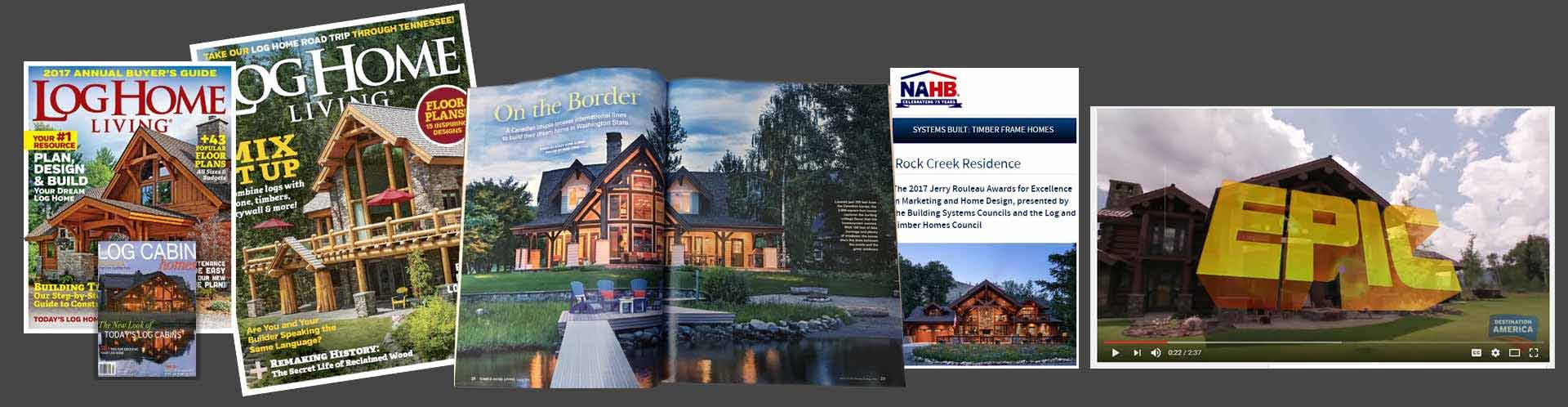 PrecisionCraft Log & Timber Homes Media